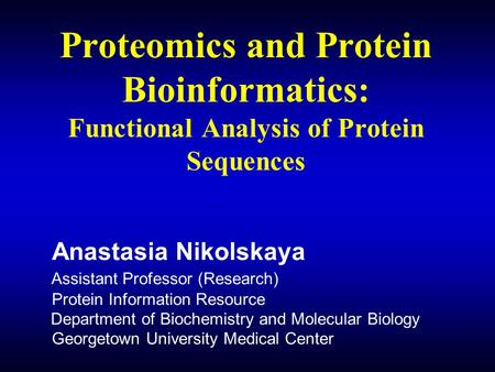 an analysis of proteins 5 quantitative determination of proteins objectives: a) to prepare a standard curve for the bio-rad assay and b) remember to do the linear regression analysis.