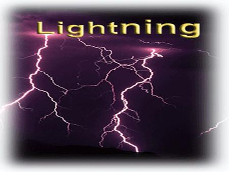I. INTRODUCTION A. Types of lightning II. LIGHTNING DENSITY MAPS A. Ground Flash density.For example (world, us etc) III. LIGHTNING PROTECTION A. Classification.