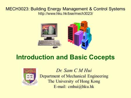 Introduction and Basic Cocepts