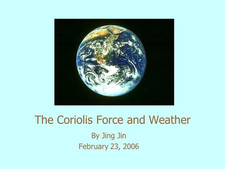 a study on the coriolis effect In the present study, a two-dimensional vawt is investigated numerically at   coriolis effect on the dynamic stall is investigated by comparing the rotating airfoil .