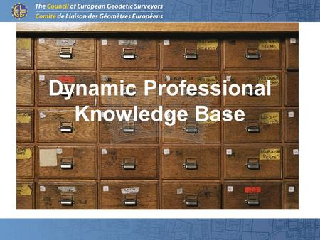 Dynamic Professional Knowledge Base. Aims: To better explain and transport the situation and the necessities of the professionals and their clients.