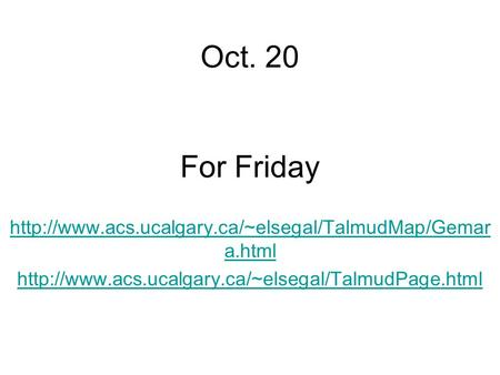 Oct. 20 For Friday  a.html