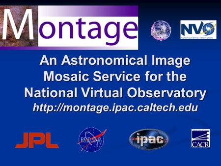 An Astronomical Image Mosaic Service for the National Virtual Observatory
