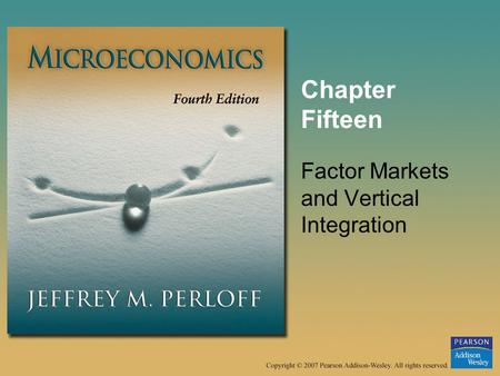 outsourcing and microeconomics Microeconomics: theory and applications: introduces an important international dimension to microeconomics effect of outsourcing on employment and wages.