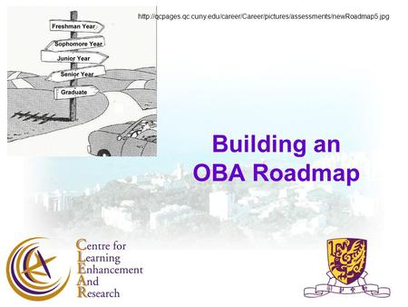 Building an OBA Roadmap