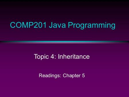 java programming language sl 275 Be competent in creating programs in any programming language or have completed the sl-110-se6 fundamentals of the java programming language, java se 6.
