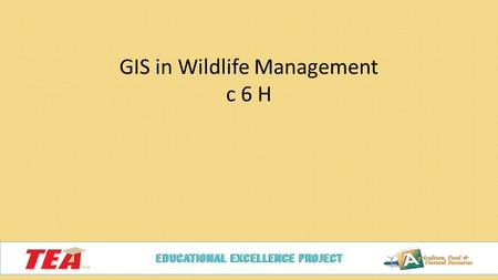 GIS in Wildlife Management c 6 H. Endangered Species What are they?  A species, plant or animal, that has been identified as likely to become extinct.