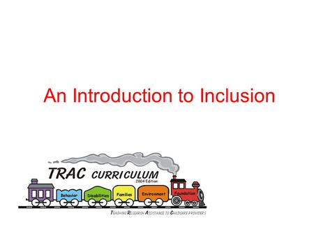 An Introduction to Inclusion. Benefits of Inclusion.