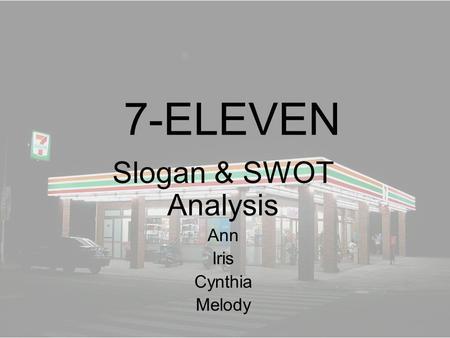 Swot analysis ann taylor
