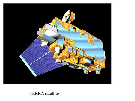 TERRA satellite. Orbits T=100 minutes Inclination Repeat time/track separation Off nadir allowed? Swath width Ascending/Descending, day/night Stereo.