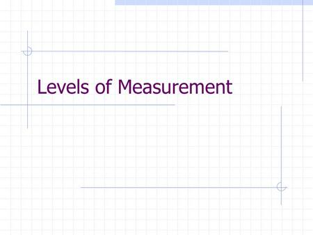 Levels of Measurement From Text: