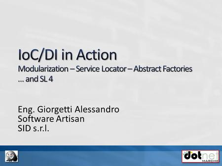Eng. Giorgetti Alessandro Software Artisan SID s.r.l.