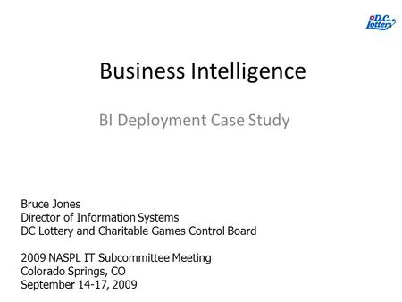 Business intelligence in insurance case study