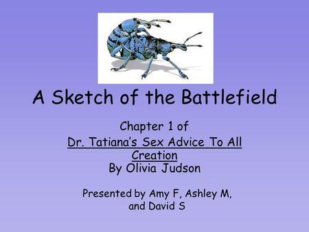 Dr Tatiana Sex Advice