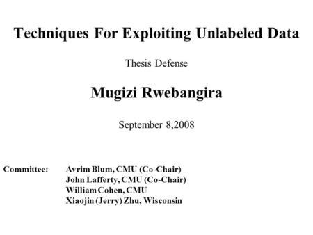 shuchi chawla thesis