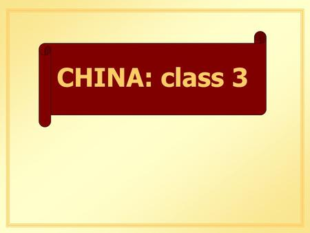 CHINA: class 3. INDUSTRIAL ACTIVITY GOOD NEWS.