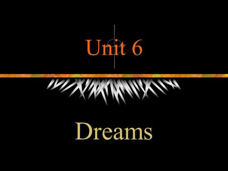 Unit 6 Dreams. What will we do this class?  Leading in  New words and phrases  The structure of the text A  Some details in the text A  Summary 