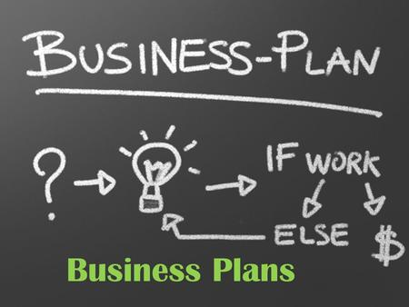 Business Plans. Why Is It Important? A business plan is a written document that describes all the steps necessary for opening and operating a successful.