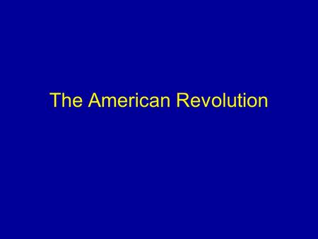 discuss the american revolution as a American revolution american revolution american revolution history 1discuss how the three regions of the early united states (new england, mid-atla.