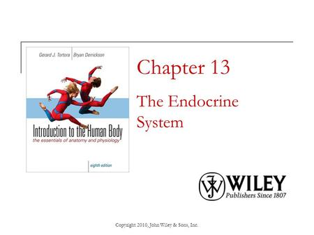 Chapter 13 The Endocrine System