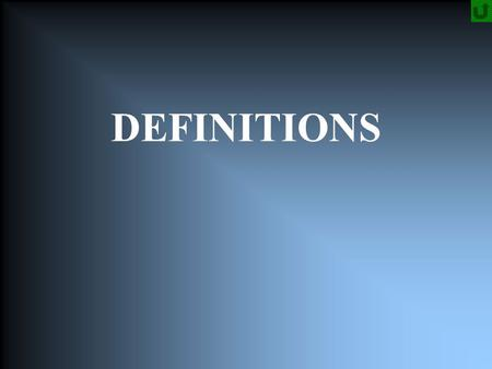 DEFINITIONS. Metallurgy The science of ore processing and metals.