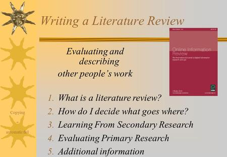 Why use NVivo for your literature review    Anuja Cabraal