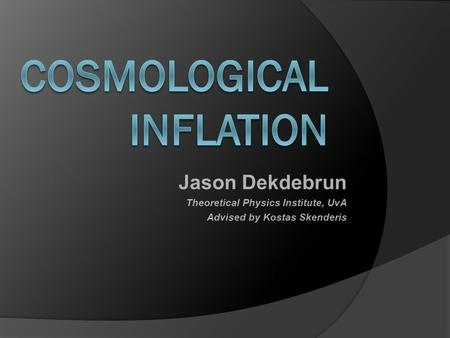 Jason Dekdebrun Theoretical Physics Institute, UvA Advised by Kostas Skenderis TexPoint fonts used in EMF. Read the TexPoint manual before you delete this.