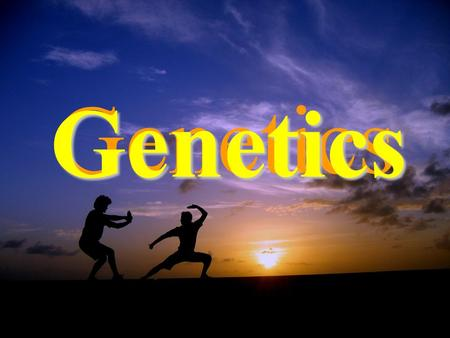 Genetics Genetics. What is Genetics ? Genetics is the study of heredity and variation Examples of genetic variation 1. Domesticated species 2. Human genetics.