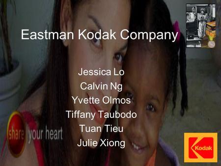 Analyzing managerial decisions eastman kodak