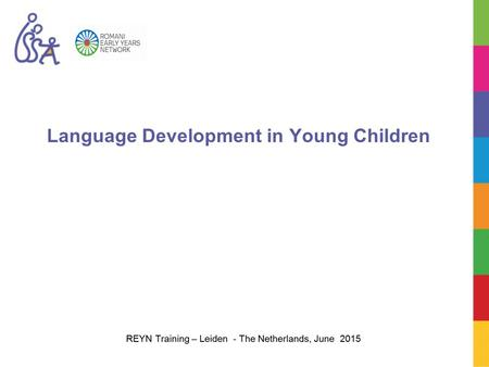 Language Development in Young Children. Objectives To examine different theories of first language development. To explain the importance of interactions.