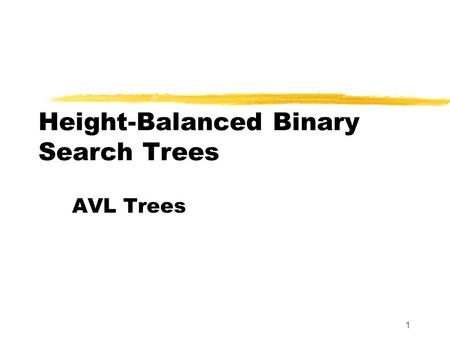 Balanced binary tree height