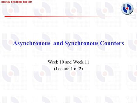 Asynchronous and Synchronous Counters