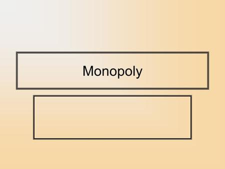 Monopoly. Market Power Market power is the ability of a firm to affect the market price of a good to their advantage. In declining order. Monopoly – A.