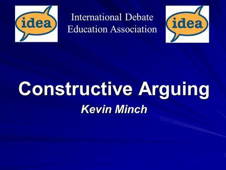 what is a constructive argument