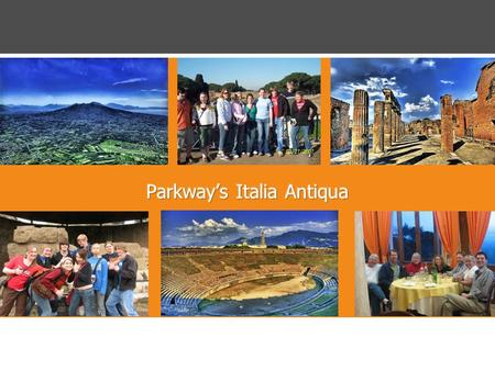 ©2003 All Rights Reserved Explorica 1 Day 1 > March 18 > Fly to Rome Day 2 > March 19 > Ciao Roma -Meet your tour director -Travel to Sorrento via Ostia.