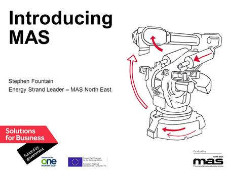Introducing MAS Stephen Fountain Energy Strand Leader – MAS North East.