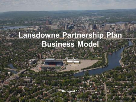 Document 51 1 Lansdowne Partnership Plan Business Model Document 5.