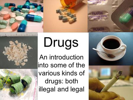 an introduction to legalizing drugs Research paper on legalization of drugs has more benefits than harm: introduction a drug is any substance that alters the normal biological functions of the body.