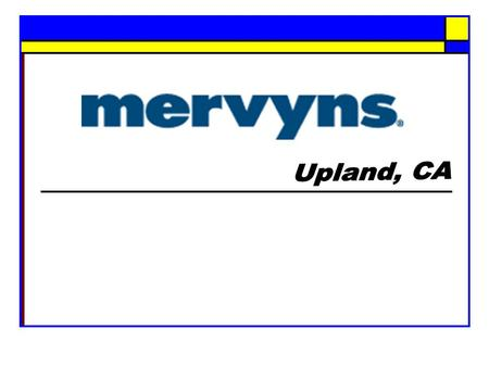 Mervyns Introduction & Background  Founded in 1949  Over 200 stores in 13 states  20,000 associates.