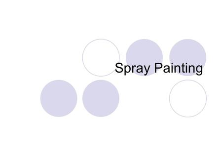 Spray Painting. Primer Paint A primer is a preparatory coating put on materials before painting. Priming ensures better adhesion of paint to the surface,