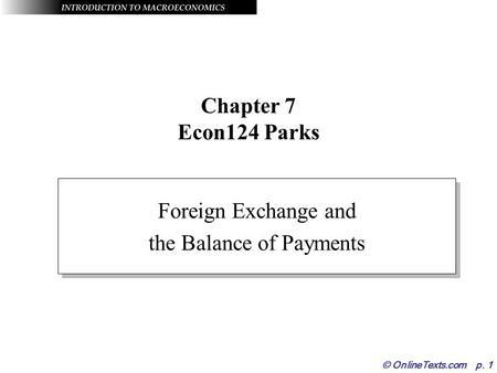 Foreign exchange abbreviation