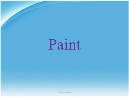 Paint www.ustudy.in.