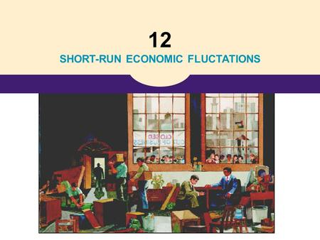 12 SHORT-RUN ECONOMIC FLUCTATIONS. Copyright©2004 South-Western 33 Aggregate Demand and Aggregate Supply Aggregate Demand and Aggregate Supply.