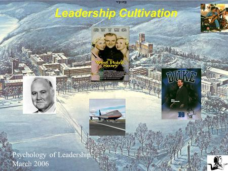 Sources: General Service Administration, Dept of the Army Historical Summary FY89, OMF, USMA Graduate File Retention Organizations: Leadership Cultivation.