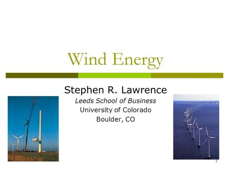 Wind Energy Dr Jehad Yamin Ppt Download