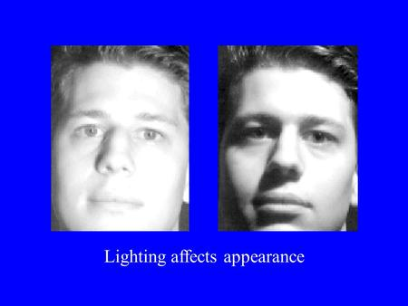 Lighting affects appearance. Light Source emits photons Photons travel in a straight line When they hit an object they: bounce off in a new direction.