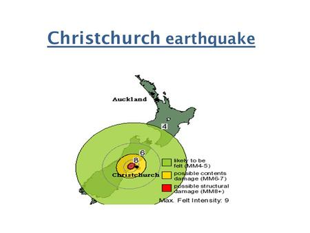 Christchurch earthquake. A 7.1 magnitude earthquake has rocked New Zealand's second largest city Christchurch, causing injuries and widespread damage,