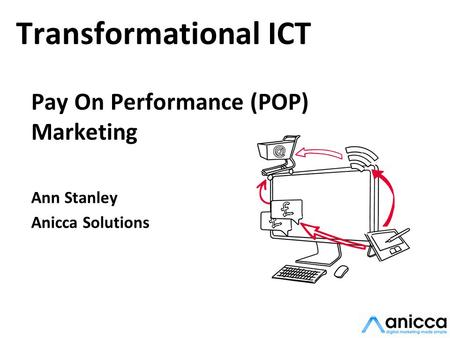 Transformational ICT Pay On Performance (POP) Marketing Ann Stanley Anicca Solutions.