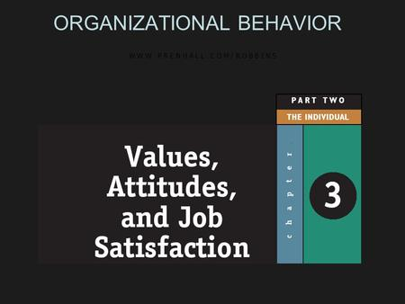the five factors of satisfaction in stephen p robbins Intrinsic factors are related to job satisfaction, while extrinsic factors are associated with organizational behavior 11e - stephen p robbins.