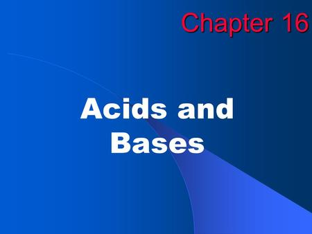 Chapter 16 Acids and Bases. EXIT Copyright © by McDougal Littell. All rights reserved.2 Figure 16.1: Representation of the behavior of acids of different.